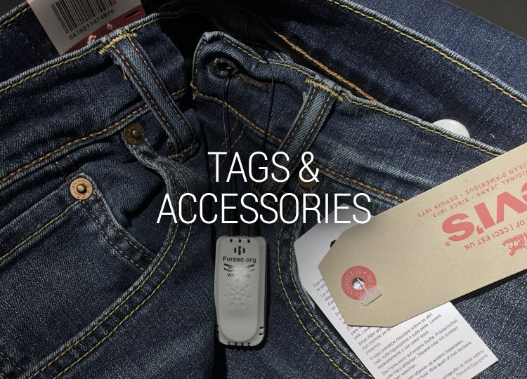TAGS & ACCESSORIES