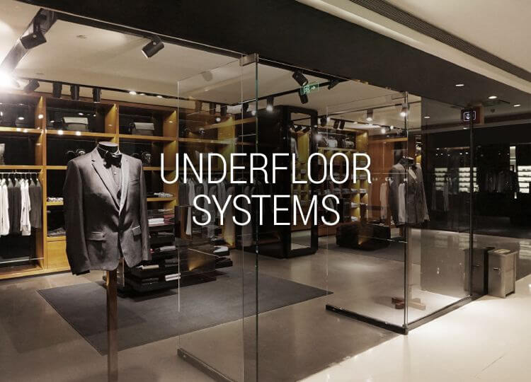 Underfloor security systems - an ideal solution to prevent shoplifting
